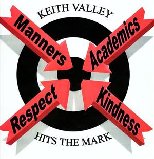 KV Hits the Mark Logo