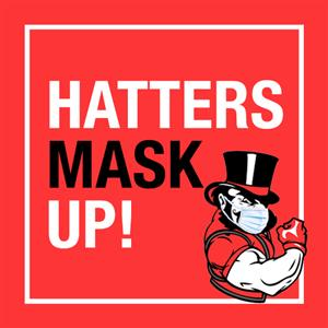 Hatters Mask Up!